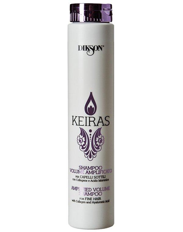 Шампунь DiksonШампуни для окрашеных волос<br><br><br>Бренды: Dikson<br>Вид товара: Шампунь<br>Область ухода: Волосы<br>Назначение: Для объема<br>Тип кожи, волос: Тонкие<br>Косметическая линия: Линия Keiras Volumising для объема волос<br>Объем мл: 1000