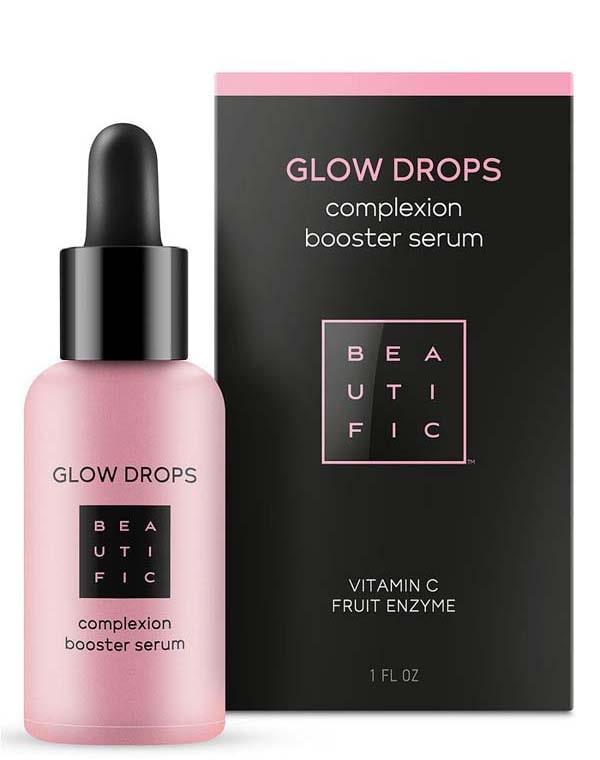 Cыворотка-бустер с витамином С для идеального цвета лица Glow Drops Beautific