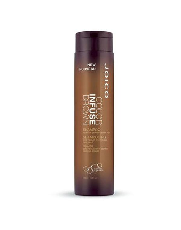 Шампунь тонирующий для поддержания коричневых оттенков Color Infuse Brown ShampooJOICO фото