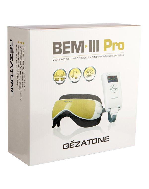 Массажер, аппарат GEZATONE BEM-III Pro Массажер для глаз Gezatone