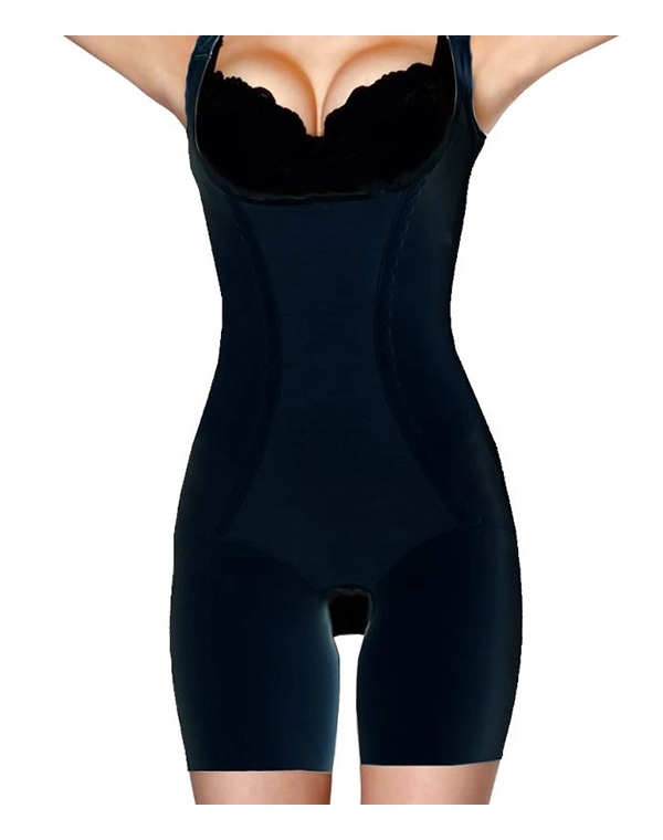 Белье GEZATONE Корректир. белье Slim'n'Shape Bodysuit (комбидрес) Gezatone черн., р. S стоимость