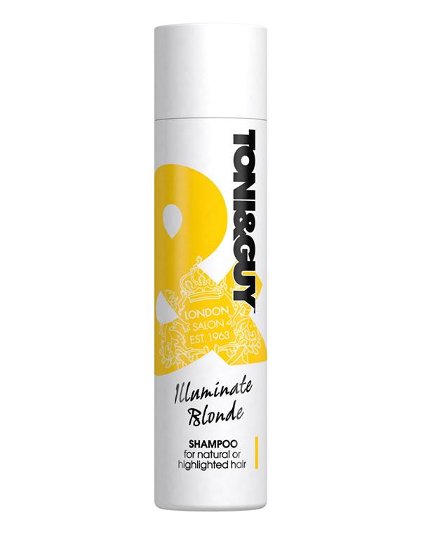 Шампунь Tony&amp;GuyШампуни для окрашеных волос<br>Шампунь дарит особый уход волосам светлых оттенков. Может использоваться как на натуральных, так и на окрашенных волосах.<br><br>Бренды: Tony&amp;amp;Guy<br>Вид товара: Шампунь<br>Назначение: Ежедневный уход, Восстановление волос, Защита цвета, Очищение волос, Восстановление и защита<br>Тип кожи, волос: Осветленные, мелированные, Окрашенные, Вьющиеся, Сухие, поврежденные, Жирные, Нормальные, Тонкие