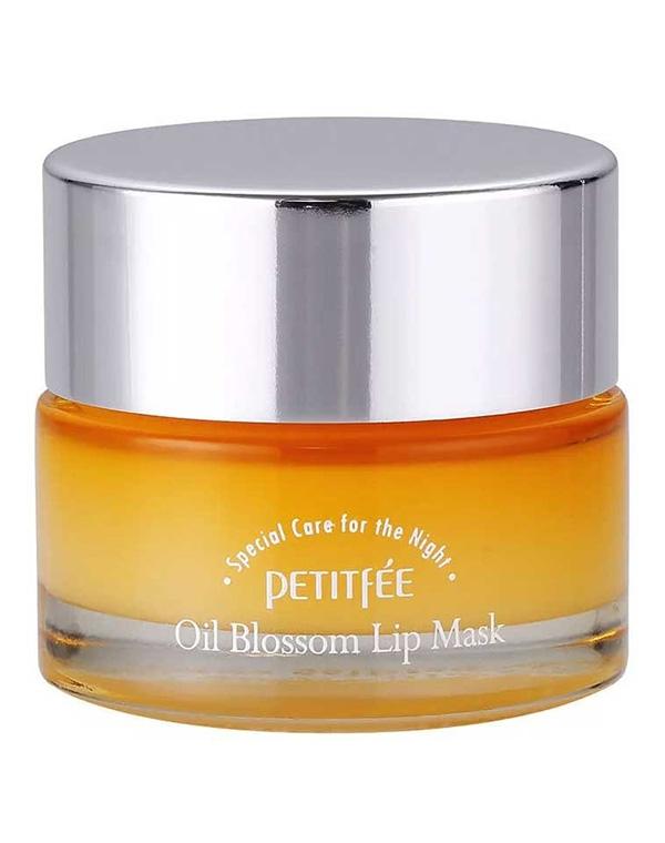 Маска для губ с витамином Е и маслом облепихи Oil Blossom Lip mask, Petitfee, 15 гр