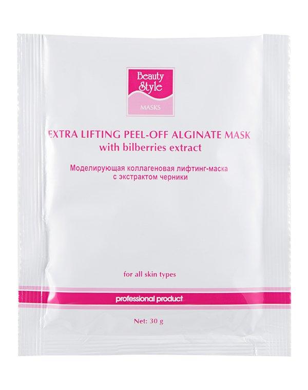 Альгинатная маска Beauty Style Маска лифтинговая коллагеновая Beauty Style с экстрактом Черники 30гр недорого