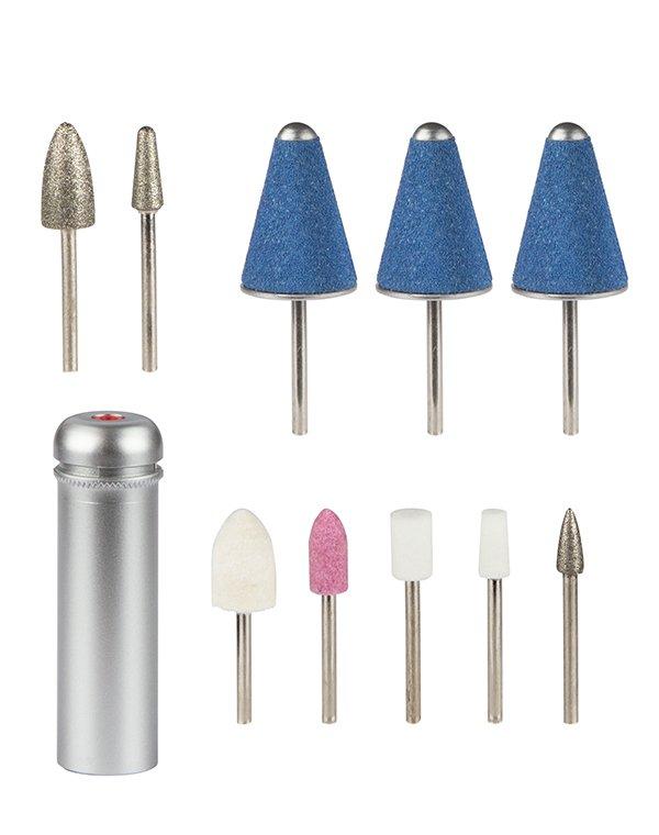 Набор сменных насадок 10 шт для 124D, 118D Gezatone - Роликовые пилки для ног