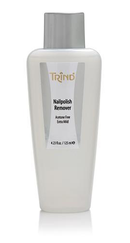 Жидкость для снятия лака без ацетона Trind, 125 ml - Лаки и средства для ногтей