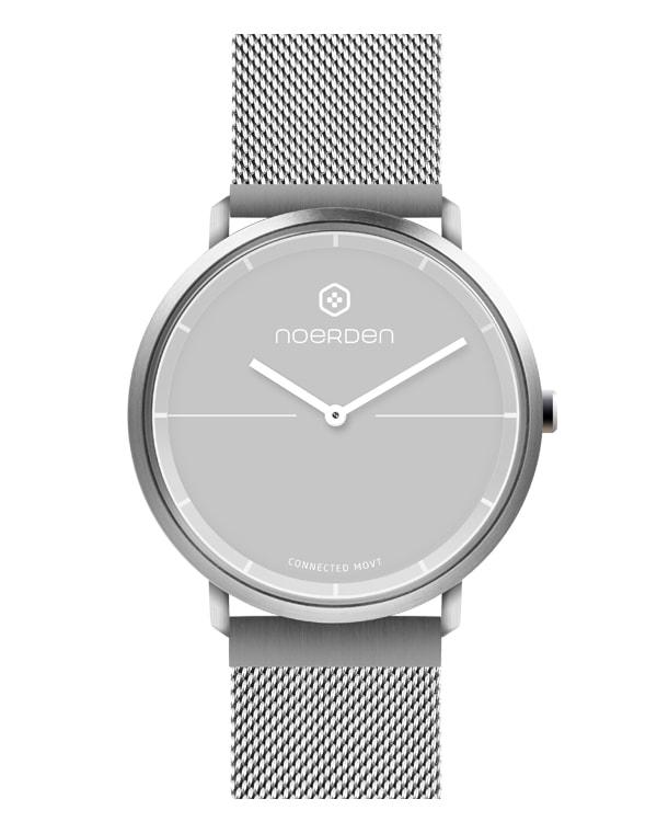Гибридные смарт-часы LIFE2+ миланский ремешок, Noerden