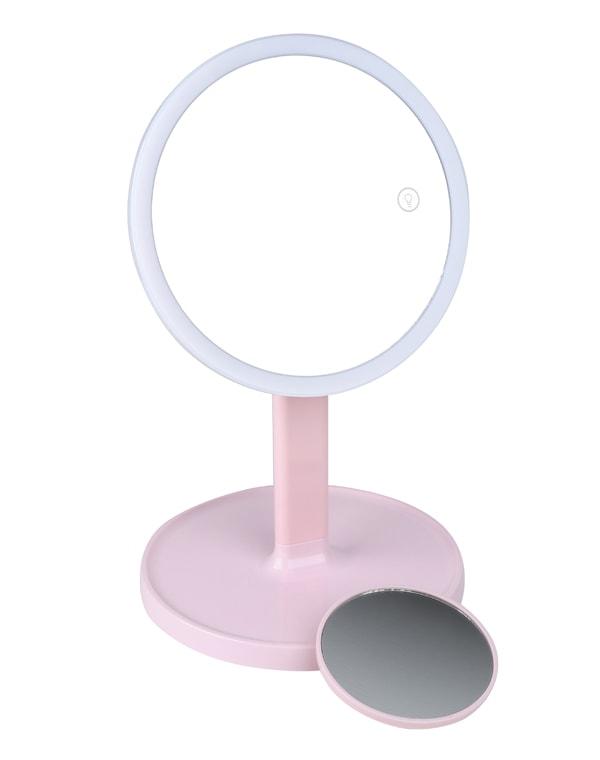 Зеркало косметологическое 1x/7x со светодиодной подсветкой LM208, Gezatone