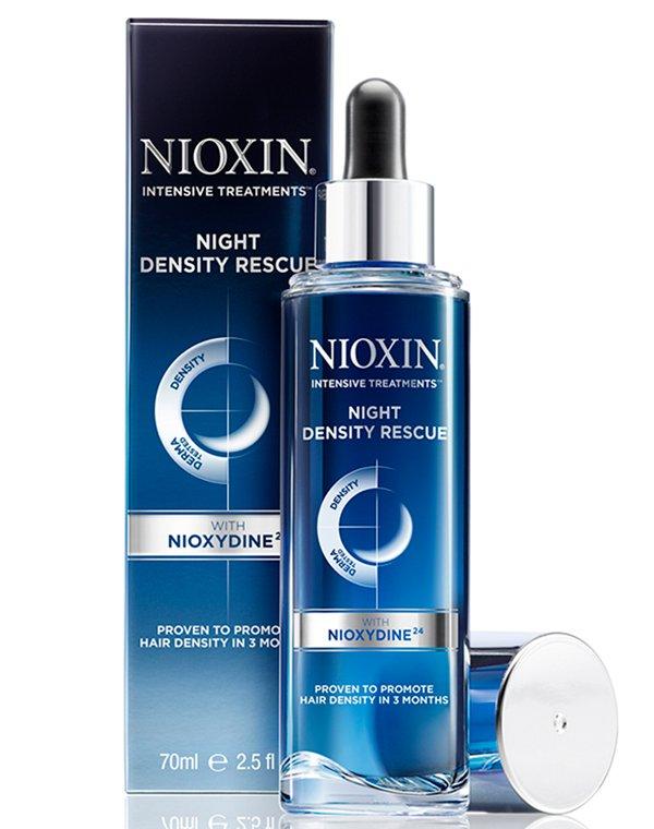 Сыворотка, флюид Nioxin Сыворотка ночная для увеличения густоты волос Night Density Rescue Nioxin