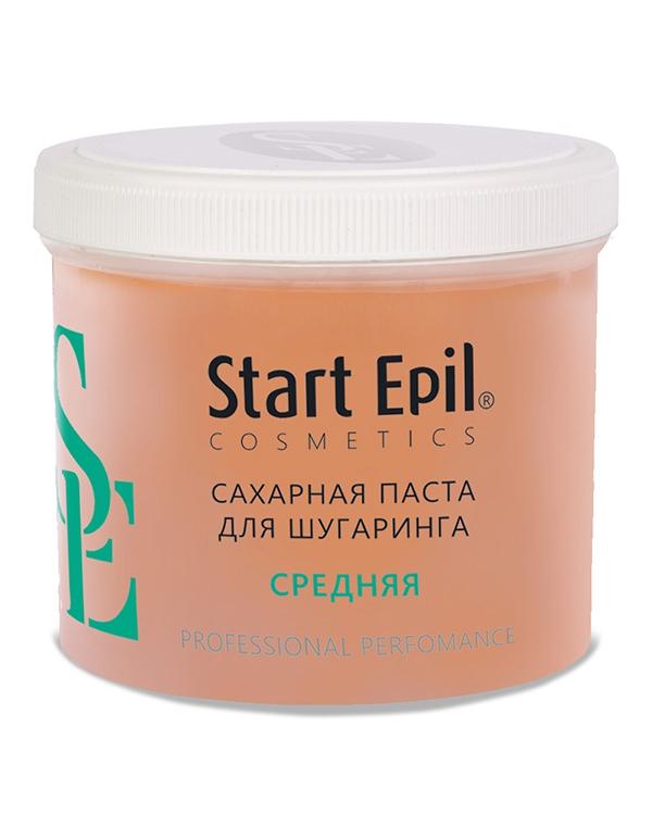 Сахарная паста для депиляции Средняя Start Epil ARAVIA Professional, 200 / 400 / 750 гр домашний шугаринг start epil паста для депиляции универсальная 400гр 2024
