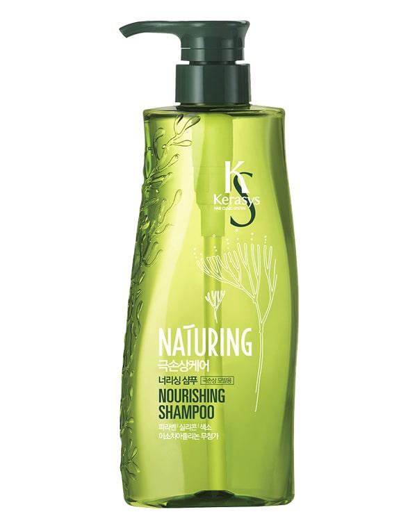 Шампунь KeraSys, Шампунь для волос Naturing Питание с морскими водорослями KeraSys, 500 мл