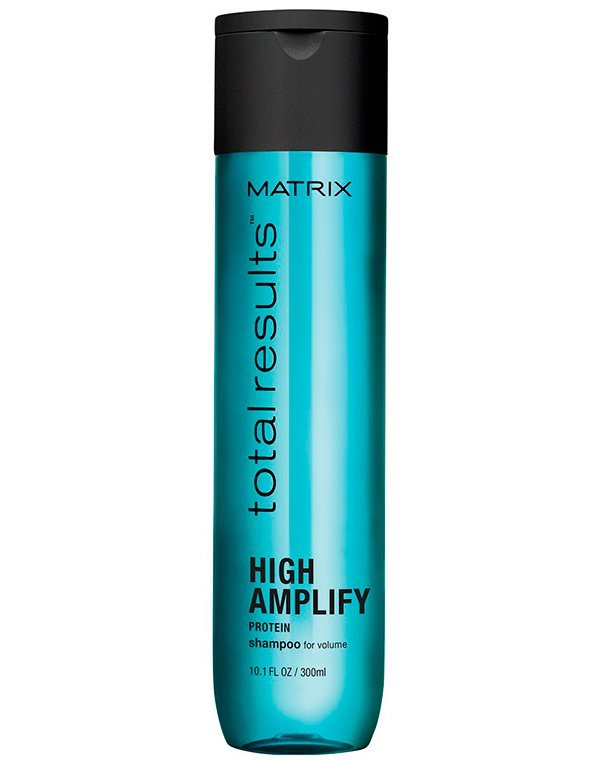 Шампунь для объема High Amplify MatrixШампуни для сухих волос<br>Шампунь для деликатного ухода за тонкими и ослабленными волосами и придания им невероятно стойкого объема. Укрепляет волосы и создает ощущение естественной плотности.<br><br>Бренды: Matrix<br>Вид товара: Шампунь<br>Область ухода: Волосы<br>Назначение: Для объема<br>Тип кожи, волос: Осветленные, мелированные, Окрашенные, Сухие, поврежденные, Тонкие<br>Косметическая линия: Линия Total Results High Amplify для придания объема волосам<br>Объем мл: 1000