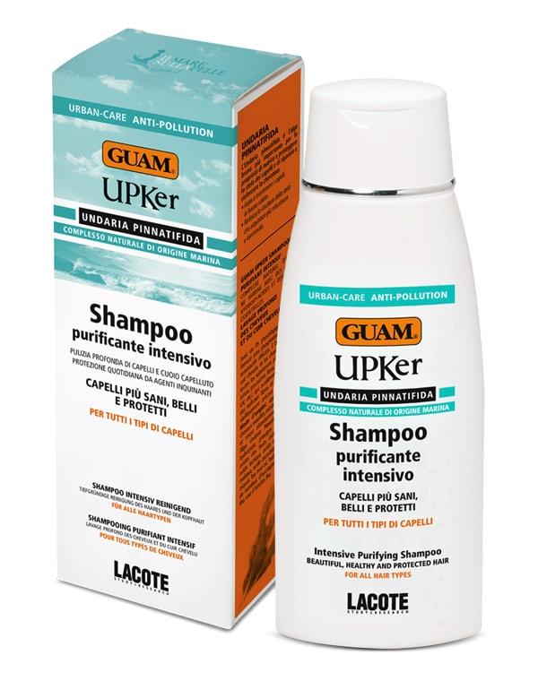 Шампунь для волос интенсивный очищающий, GUAM, 200 мл косметика для волос guam