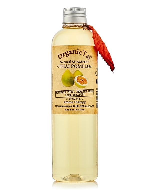 купить Шампунь для волос натуральный «Тайский помело» Organic Tai, 260 мл по цене 849 рублей