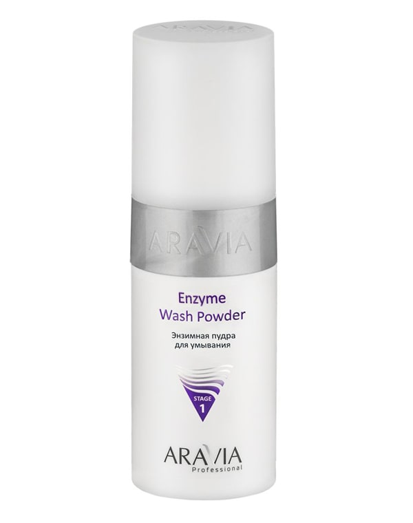 Купить Молочко, пенка Aravia, Энзимная пудра для умывания Enzyme Wash Powder, ARAVIA Professional, 150 мл