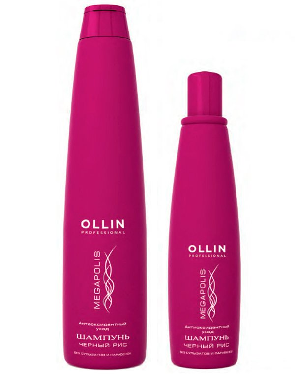 Шампунь на основе черного риса OllinШампуни для сухих волос<br>Средство для регулярного очищения ослабленных и тусклых волос, придает им тонус и блеск.<br><br>Бренды: Ollin<br>Вид товара: Шампунь<br>Область ухода: Волосы<br>Назначение: Увлажнение и питание, Ежедневный уход, Защита от солнца<br>Тип кожи, волос: Осветленные, мелированные, Окрашенные, Сухие, поврежденные<br>Косметическая линия: Линия Megapolis люкс для ухода за волосами<br>Объем мл: 200