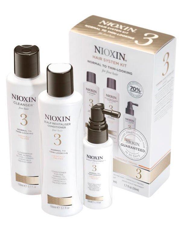 Маска для волос NioxinШампуни для сухих волос<br>Профессиональный комплекс для ежедневного ухода за тонкими окрашенными волосами с тенденцией к выпадению.<br><br>Бренды: Nioxin<br>Вид товара: Маска для волос<br>Область ухода: Волосы<br>Назначение: Увлажнение и питание, От выпадения волос, Стимуляция роста, Очищение волос, Для объема<br>Тип кожи, волос: Осветленные, мелированные, Окрашенные, Сухие, поврежденные, Нормальные, Тонкие<br>Косметическая линия: Линия Система 3 Для тонких химобработанных/нормальных волос с тенденцией к выпадению