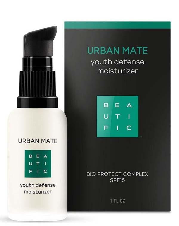 Крем-флюид дневной против первых признаков старения с комплексом anti-pollution, SPF15 Urban Mate Beautific