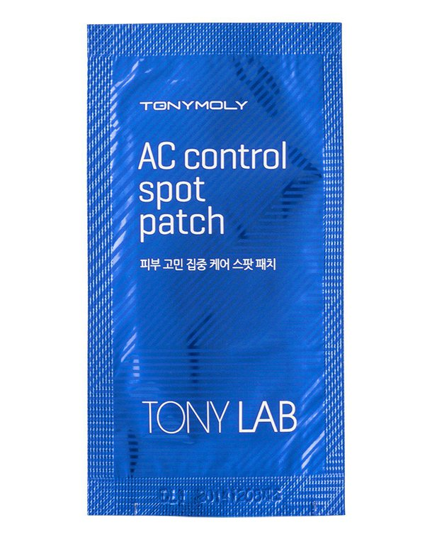 Нетканная маска, патч Tony Moly Патчи от воспалений TonyLab AC Control Spot Patch, Tony Moly кисть tony moly professional all about brush 1 шт