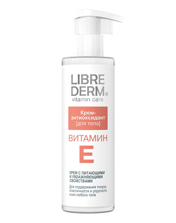 Крем Librederm Крем-антиоксидант для тела Витамин Е, Librederm, 200 мл крем librederm vitamin e cream antioxidant for face 50 мл