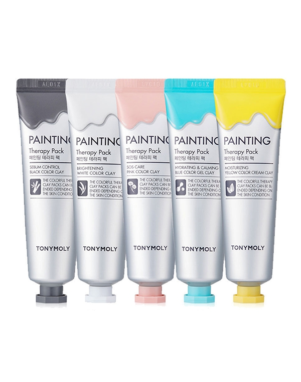 Маска Tony Moly Маска для лица Painting Therapy Pack, Tony Moly, 30 мл кисть tony moly professional all about brush 1 шт