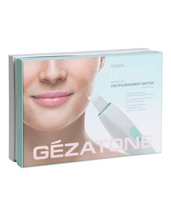 Массажер, аппарат GEZATONE Аппарат для ультразвуковой чистки лица Gezatone Bio Sonic HS2307i