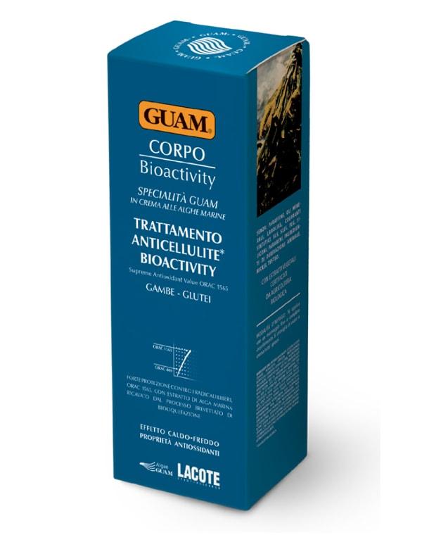Крем антицеллюлитный биоактивный для тела, GUAM, 200 мл крем антицеллюлитный для массажа guam 250 мл