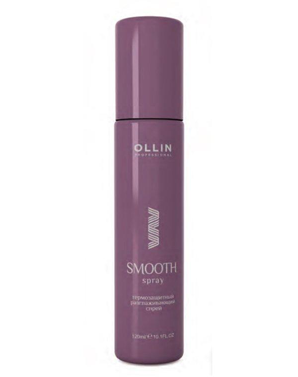 Спрей термозащитный разглаживающий Thermal protection smoothing spray OllinТермозащита<br>Многофункциональный спрей для разглаживания волос и их защиты при укладке горячим способом.<br><br>Бренды: Ollin<br>Вид товара: Спрей, мусс<br>Область ухода: Волосы<br>Назначение: Термозащита, Выпрямление<br>Тип кожи, волос: Вьющиеся, Сухие, поврежденные, Нормальные<br>Косметическая линия: Линия Curl &amp;amp; Smooth Hair уход за вьющимися волосами