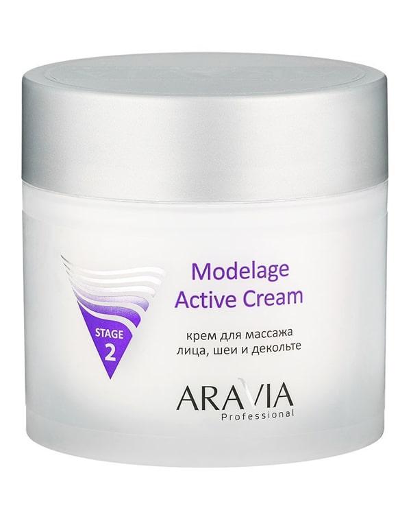 Купить Крем Aravia, Крем для массажа Modelage Active Cream, ARAVIA Professional, 300 мл