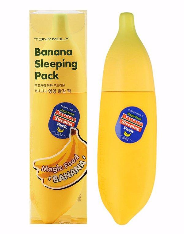 Маска Tony Moly Ночная маска для лица Magic Food Banana Sleeping Pack, Tony Moly