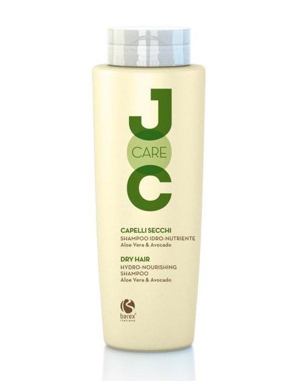 Шампунь BarexШампуни для окрашеных волос<br>Восстановить водно-жировой баланс кожи головы поможет шампунь с алоэ-вера и авокадо. Средство разработано для сухих локонов, которым не хватает блеска, объема и увлажнения. Оно облегчает укладку и расчесывание.<br><br>Бренды: Barex<br>Вид товара: Шампунь<br>Область ухода: Волосы<br>Назначение: Ежедневный уход<br>Тип кожи, волос: Осветленные, мелированные, Окрашенные, Сухие, поврежденные<br>Косметическая линия: Joc care Линия для ухода по длине волос<br>Объем мл: 1000