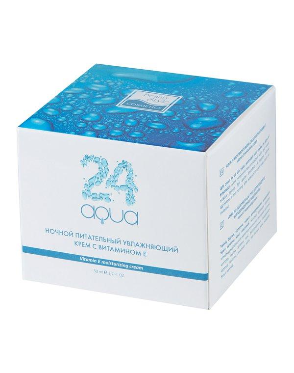Крем Beauty Style Ночной питательный увлажняющий крем Аква 24, Beauty Style