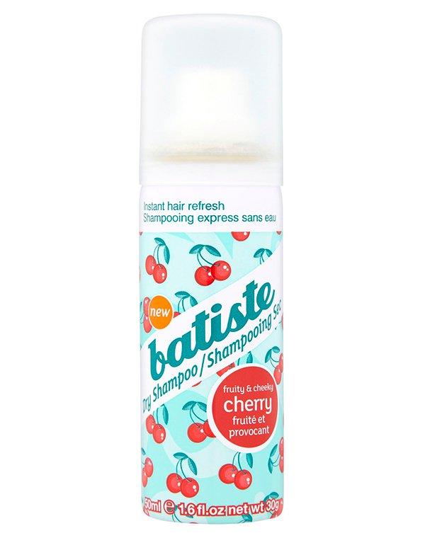 Шампунь сухой Cherry BatisteПрофессиональная косметика для волос<br>Формула сухого шампуня способствует мгновенной адсорбции излишков кожного сала и загрязнений. Она способствует деликатному очищению.<br>