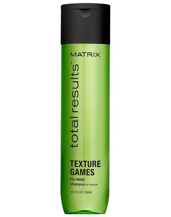Шампунь универсальный облегчающий укладку Texture Games, Matrix