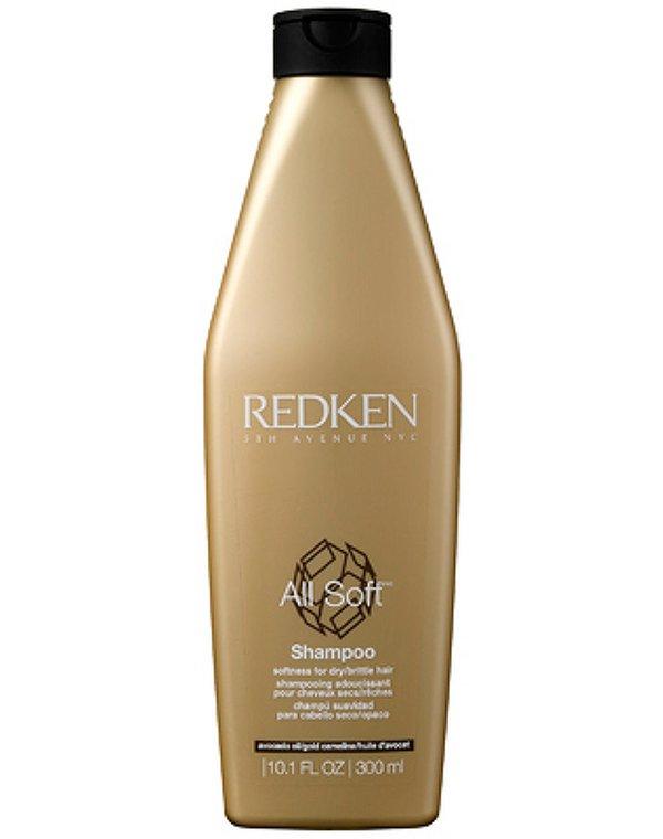 Шампунь All Soft для сухих и поврежденных волос Redken