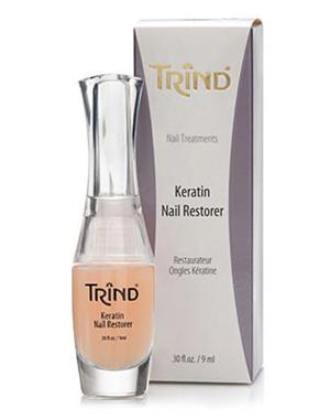 Лак для ногтей Trind Кератиновый восстановитель ногтей Trind, 9 ml