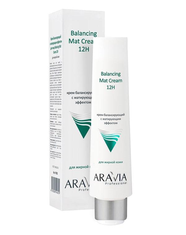 Крем для лица балансирующий с матирующим эффектом, ARAVIA Professional, 100 мл фото