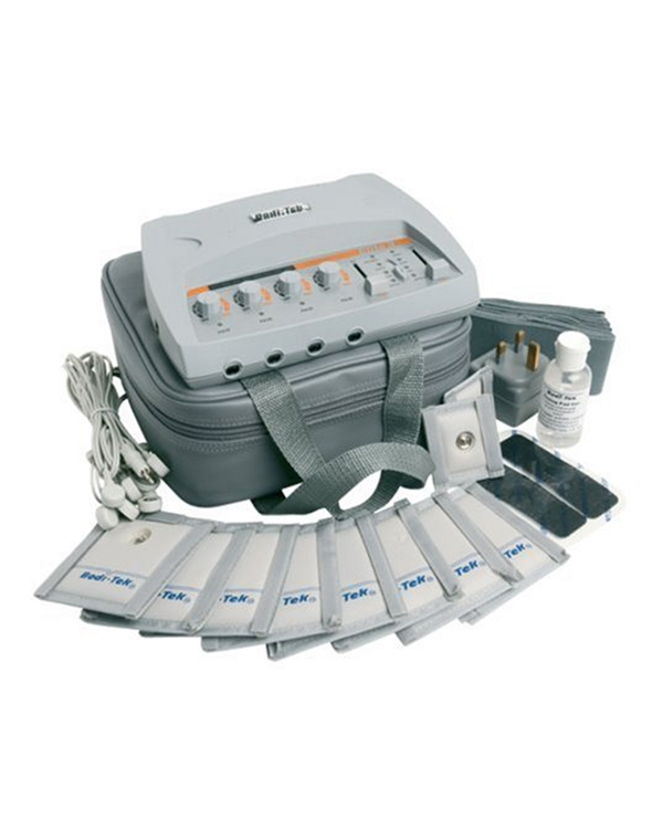 Импульсный массажер Bodi-Tek Elite 3 DEZAC RIOМиостимулятор для домашнего использования с технологиями проработки мышц и устранения болевых синдромов.<br><br>Бренды: DEZAC RIO<br>Вид товара: Массажер, аппарат<br>Область ухода: Спина, Тело, Бедра и ягодицы, Руки, Ноги, Талия и живот<br>Назначение: Похудение, снижение веса, Антицеллюлитное, Коррекция фигуры, Тренировка мышц