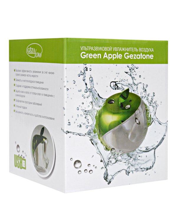 Массажер, аппарат GEZATONE Увлажнитель воздуха Gezatone Green Apple AN-515