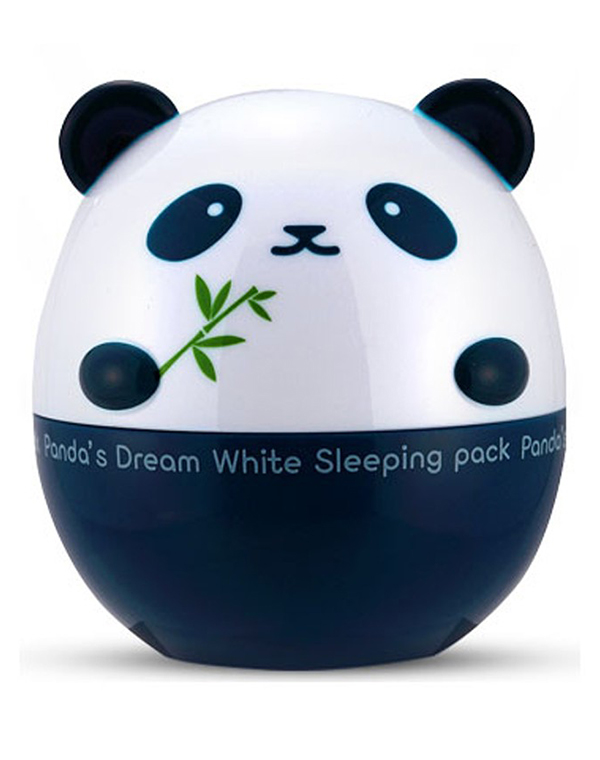 Ночная маска для лица Pandas Dream White Sleeping Pack 2, Tony MolyМаски для питания кожи<br>Ночная маска выпускается в баночке с ярким дизайном в виде панды. Она комплексно воздействует на кожу, выравнивая оттенок лица и увлажняя кожу.<br>