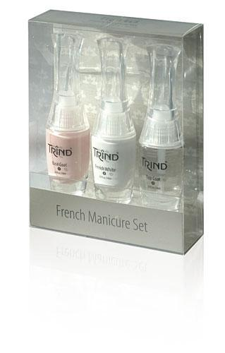 Набор Trind для французского маникюра розовыйКосметика для ногтей<br>С помощью набора Trind вы сможете сделать легендарный французский маникюр самостоятельно в домашних условиях!<br><br>Бренды: Trind<br>Область ухода: Ногти<br>Назначение: Дизайн ногтей, Укрепление и восстановление ногтей