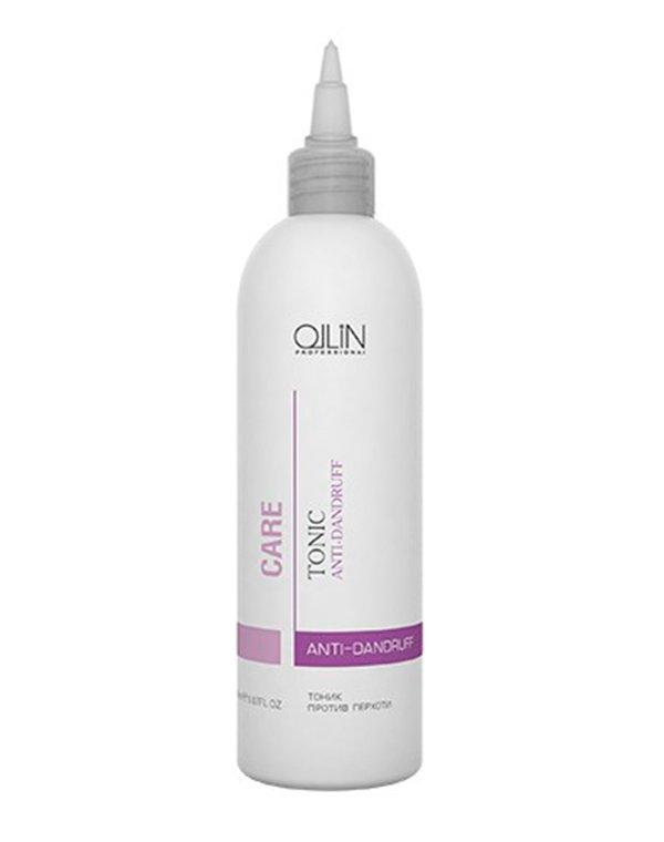 Тоник против перхоти Anti-Dandruff Tonic OllinБальзамы для лечения волос<br>Профессиональное косметическое средство для борьбы с раздражениями кожи головы и перхотью.<br><br>Бренды: Ollin<br>Вид товара: Тоник, лосьон<br>Область ухода: Волосы<br>Назначение: Лечение перхоти<br>Тип кожи, волос: Осветленные, мелированные, Окрашенные, Вьющиеся, Сухие, поврежденные, Жирные, Нормальные, Тонкие<br>Косметическая линия: Линия Care уход за волосами и кожей головы