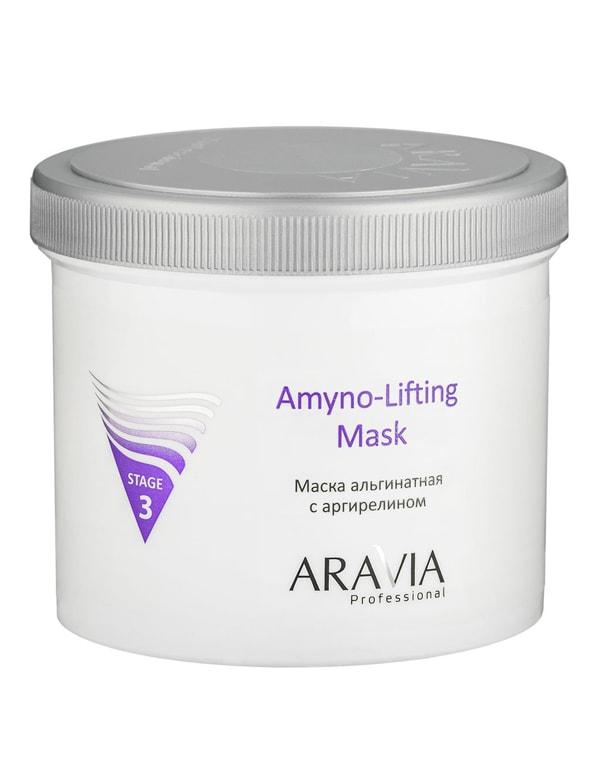 Маска альгинатная с аргирелином Amyno-Lifting, ARAVIA Professional, 550 мл фото