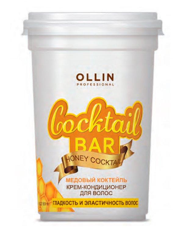 Крем Ollin Крем-кондиционер для волос Медовый коктейль гладкость и эластичность Cocktail BAR Ollin