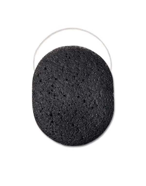 Спонж конняку органический для лица для пробл, склонной к появлен прыщей кожи Black sponge Beautific недорого