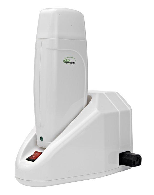 Разогреватель Gezatone для картриджей с воском c базойВоскоплавы<br>Быстрый, легкий и удобный способ избавиться от нежелательных волос в домашних условиях с помощью восковой эпиляции. Разогреватель для воска (воскоплав) подходит для всех стандартных картриджей 100мл, имеет удобную устойчивую базу и стильный дизайн.<br>
