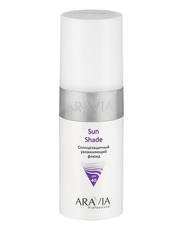 Солнцезащитный увлажняющий флюид (для тела и лица) Sun Shade SPF-40, ARAVIA Professional, 150 мл крем солнцезащитный для лица и тела усиленная защита spf 60 150 мл кора солнце