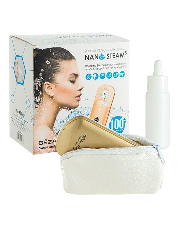 Массажер, аппарат GEZATONE Увлажнитель для кожи лица Nano Steam AH 903, Gezatone