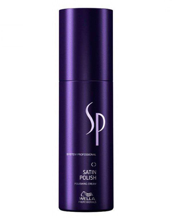 Крем для гладкости волос Satin Polish Styling Wella SPКрем для волос<br>Крем делает локоны невероятно гладкими и мягкими, упрощая ежедневный стайлинг.<br><br>Бренды: Wella System Professional<br>Вид товара: Крем<br>Область ухода: Волосы<br>Назначение: Стайлинг, Выпрямление<br>Тип кожи, волос: Осветленные, мелированные, Окрашенные, Вьющиеся, Сухие, поврежденные, Нормальные, Тонкие<br>Косметическая линия: Линя SP Styling стайлинга