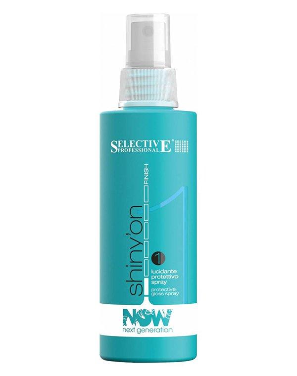 Спрей, мусс SelectiveСпрей для волос<br>В состав спрея входят высокоочищенные силиконы, которые позволяют придать объем локонам и естественный блеск. Защищает от ультрафиолетового излучения.<br><br>Бренды: Selective<br>Вид товара: Спрей, мусс<br>Область ухода: Волосы<br>Назначение: Стайлинг, Восстановление и защита<br>Тип кожи, волос: Осветленные, мелированные, Окрашенные, Вьющиеся, Сухие, поврежденные, Жирные, Нормальные, Тонкие<br>Косметическая линия: NOW NEXT GENERATION Линия для укладки волос